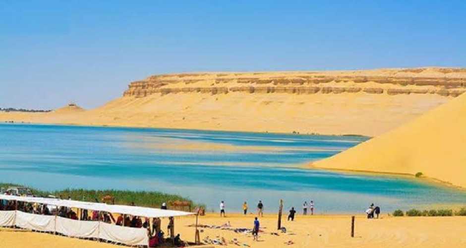 The Magic Lake In Fayoum