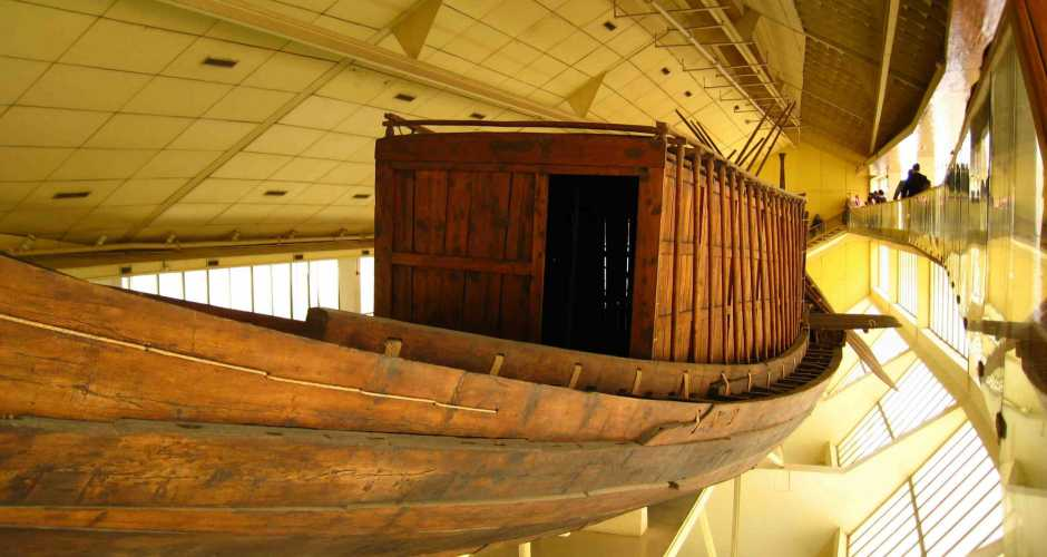 THE BOAT MUSEUM OF CHEOPS