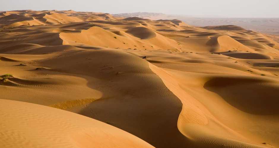 SAND DUNES AT GREAT SEA OF SAND, SIWA OASIS