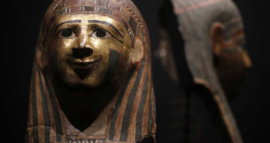 THE MUSEUM  OF THE GOLDEN MUMMIES