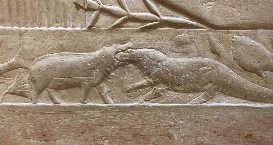 The tomb of Kagmni