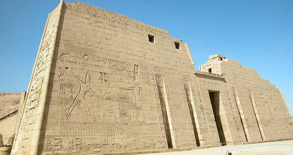 The Temple Of Medinet Habu