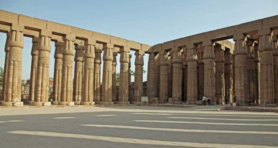 Sun Court of Amenhotep III