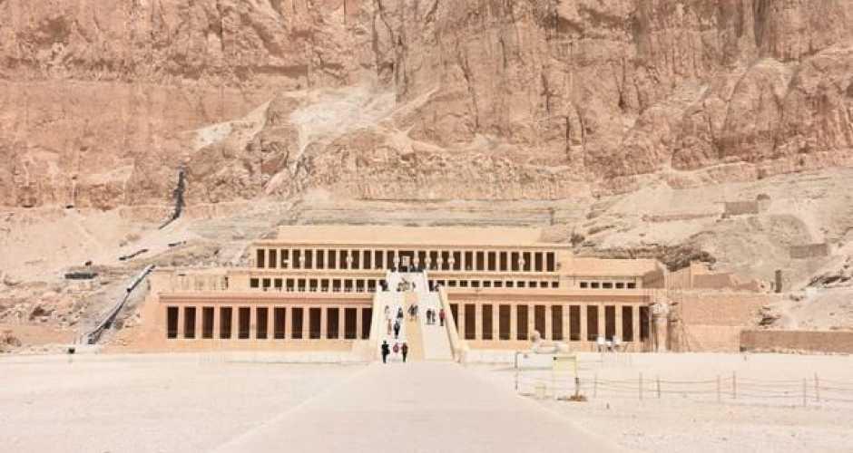 The queen Hatshepust temple