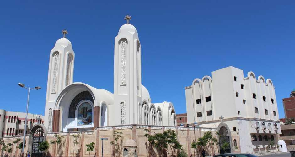 10-De koptische kerk in Hurghada