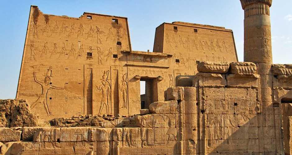 De tempel van Edfu