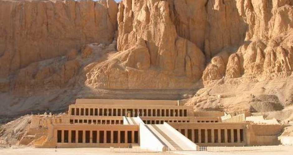 4. De tempel van Hatshepsut