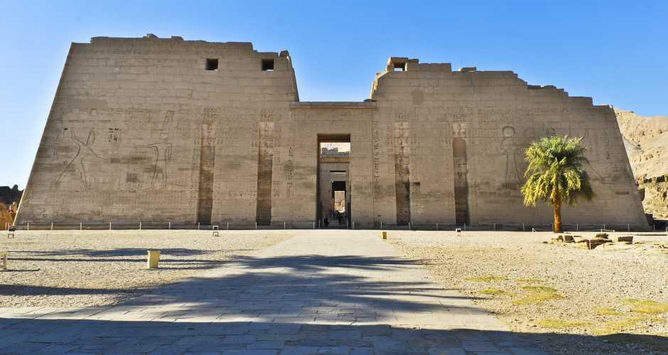 6. Madinet Habu tempel