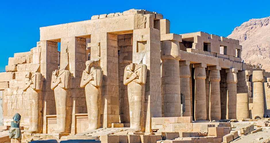 9- Ramseum tempel