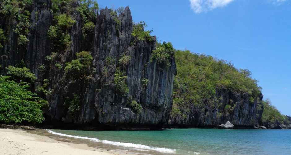 Sabang beach Underground River