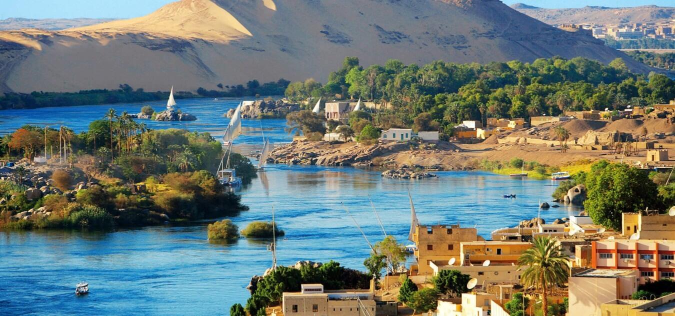 Nile River Map, Nile River Facts, Nile River History - Journey To Egypt