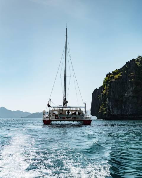 Philippine Island Cruise Corp SEACRET 뗏목 요트