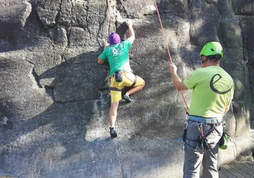 När det är viktigare att njuta ... än att klättra högst