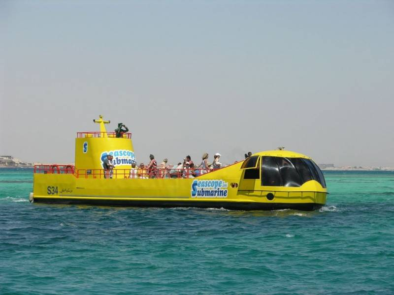 Excursies Egypte Submarine Trips From Portghalib
