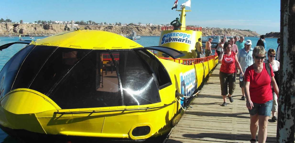 Excursies Egypte Voyages sous-marins de Marsa Alam