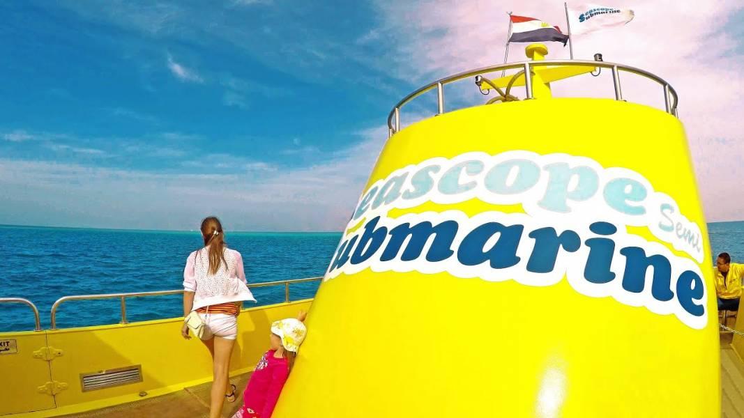 Excursies Egypte Voyages sous-marins de Portghalib