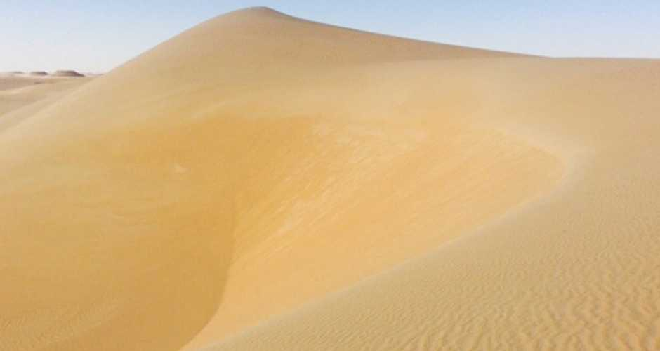Sand Dunes at Great Sea of Sand, Siwa Oasis