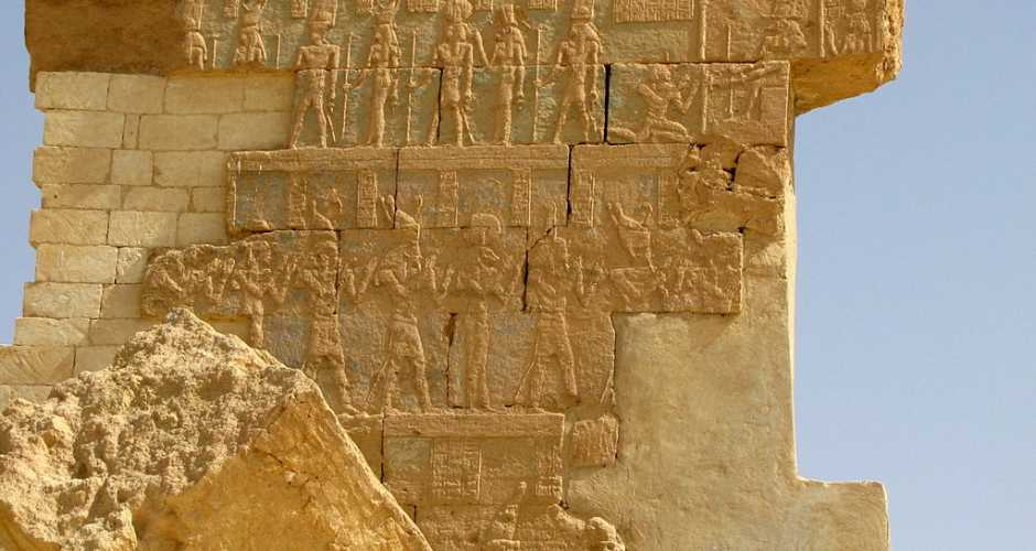 The temple of Amun