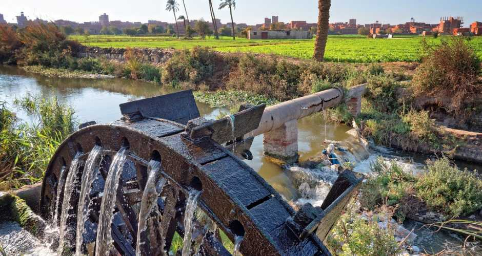 Waterwheels In Fayoum
