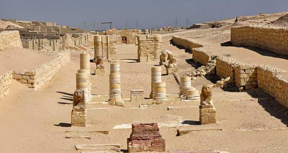 Madinet Madi temple