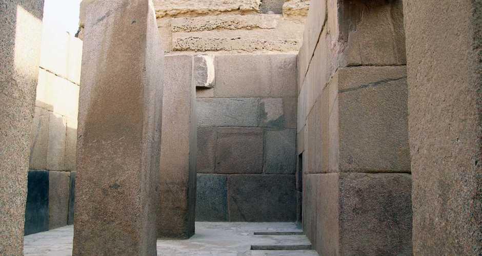 6-The valley temple of Chephren
