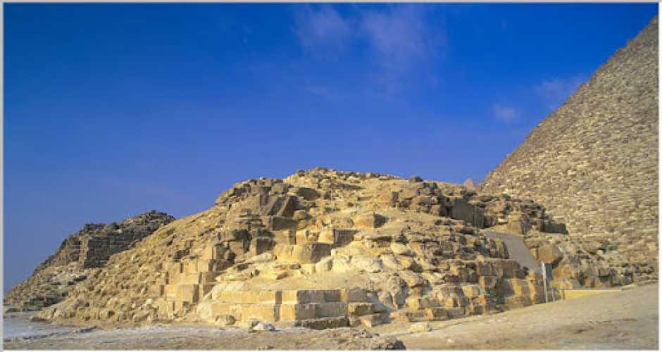 9- The Pyramid of Queen Hetepheres I