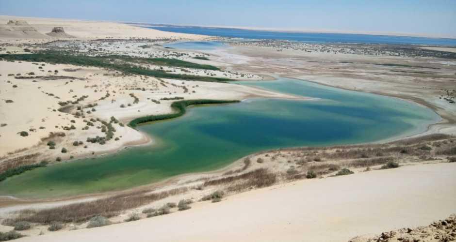 Het magische meer in de oase van Fayoum