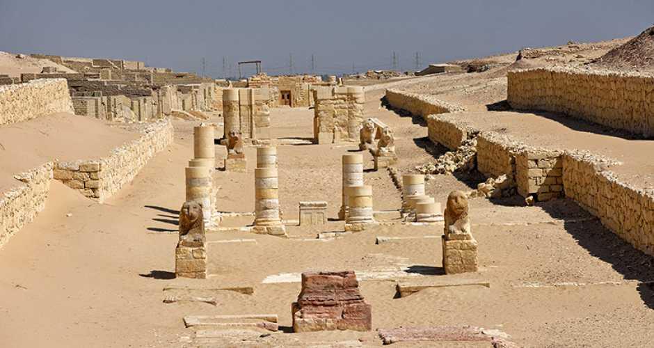 Madinet Madi-tempel in Fayoum oase