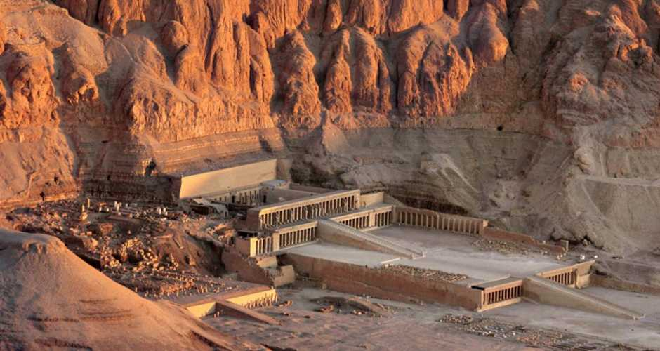 4-The temple of the Queen Hatshepsut
