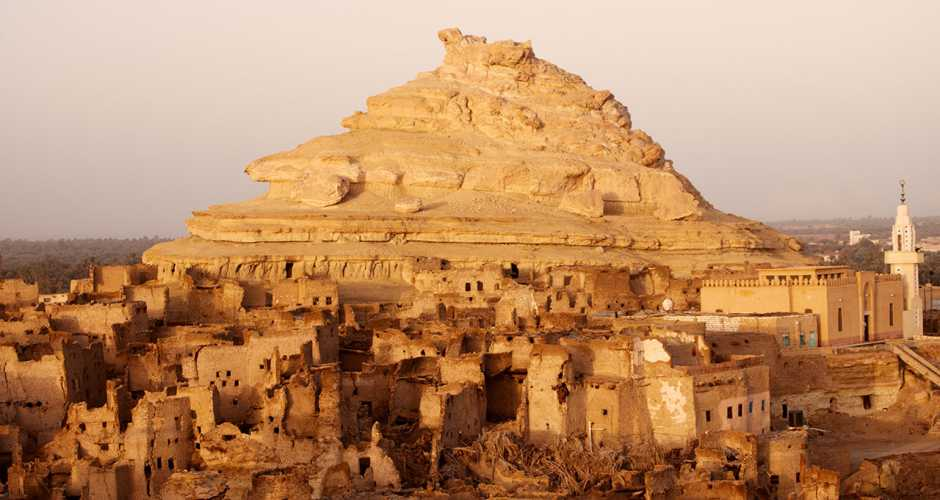 The fortress of Shali in Siwa