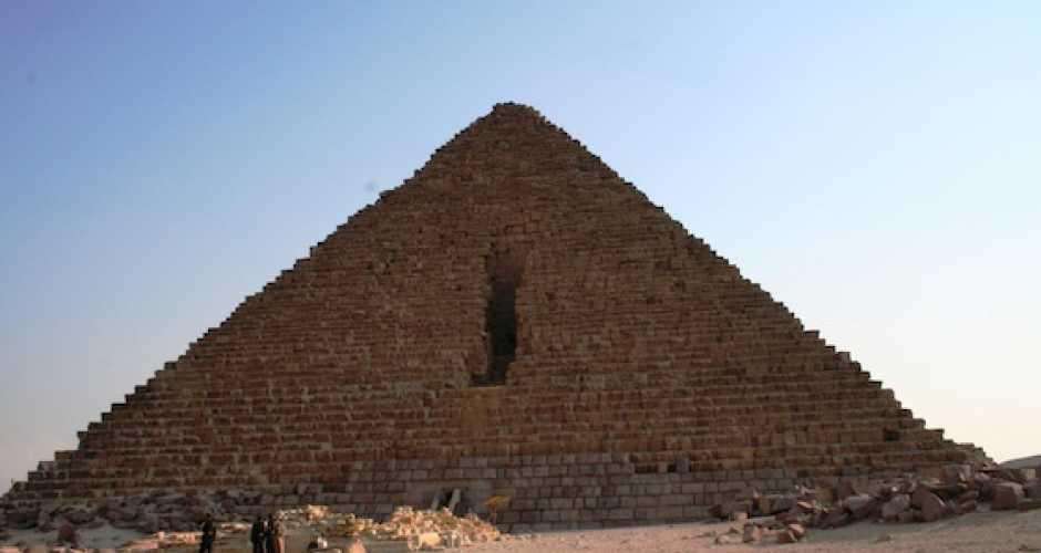 The Pyramid of Mykrinous