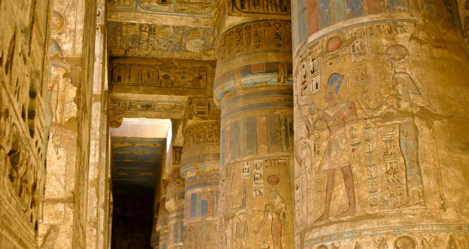 8-De Tempel van Madinet Habu