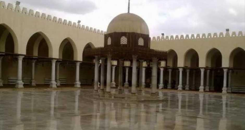 1-Amr ib el as mosque in Damietta