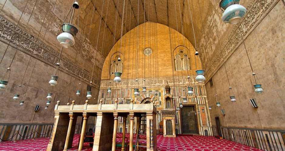 8-De moskee van Sultan Hassan
