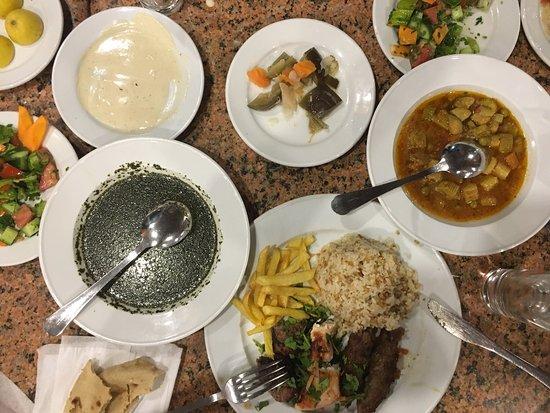 Lunch in Egyptische restaurant