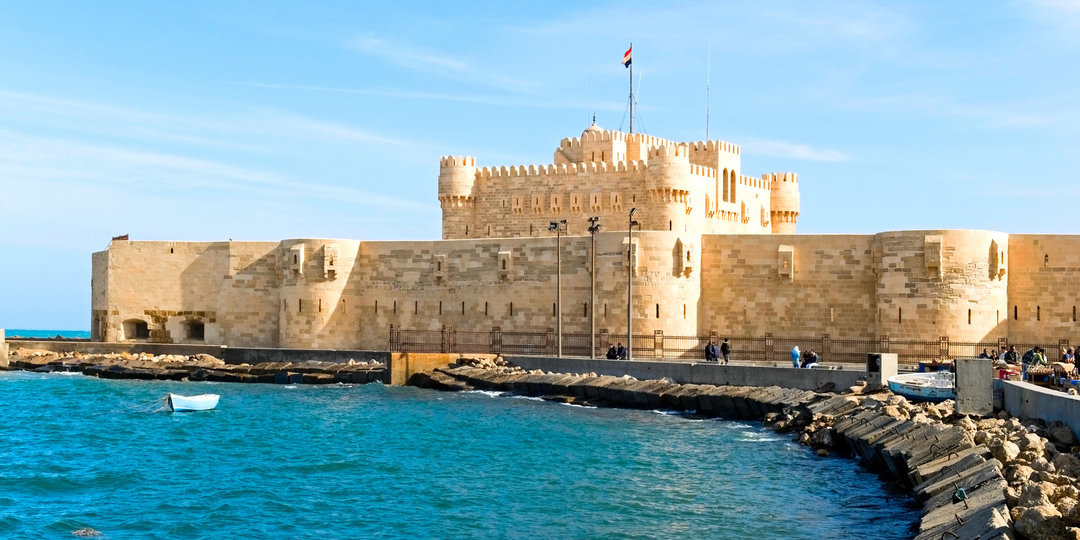 The Citadel of Sultan Qeitbay