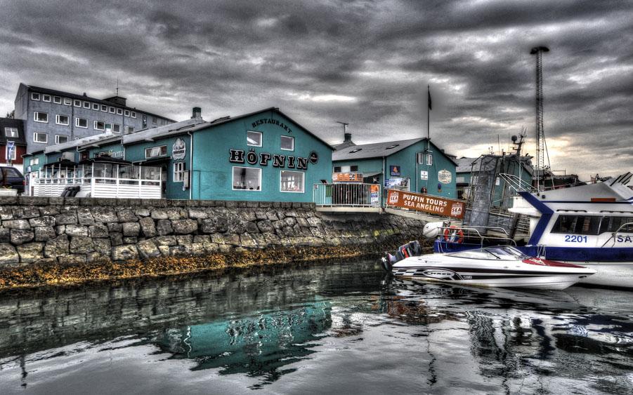 Reykjavik harbour - Höfnin restaurant