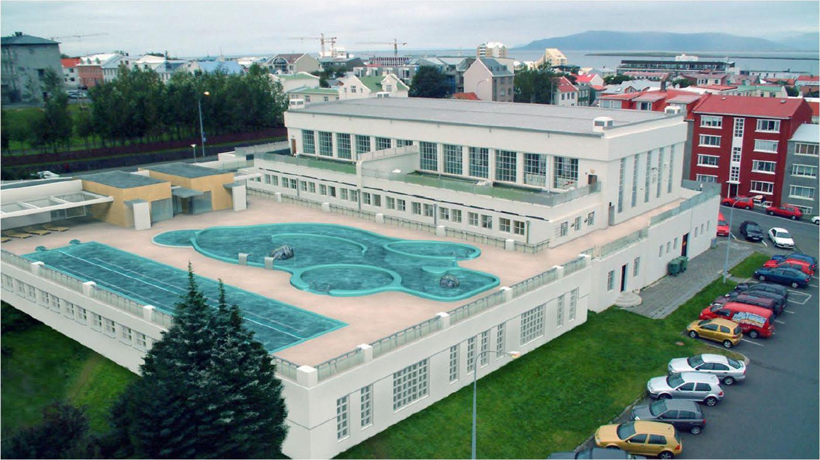 Swimming pool Reykjarvik - Sundhöll reykjarvikur