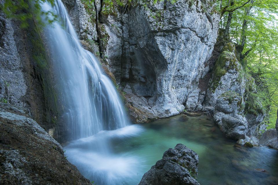Le magnifiche cascate del fiume Melfa, nella Val Canneto