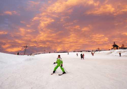 Skiing in the Carpathians