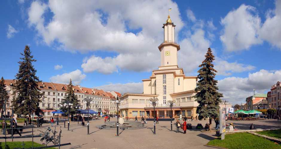 The City Hall of Ivano-Frankivsk