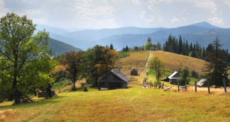 carpathians panorama