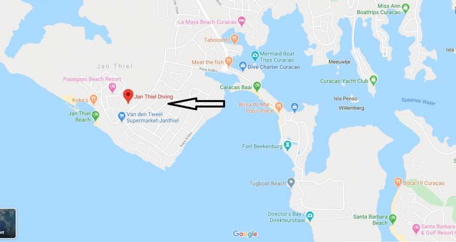 Our dive shop is located @ Livingstone Jan Thiel Beach Resort