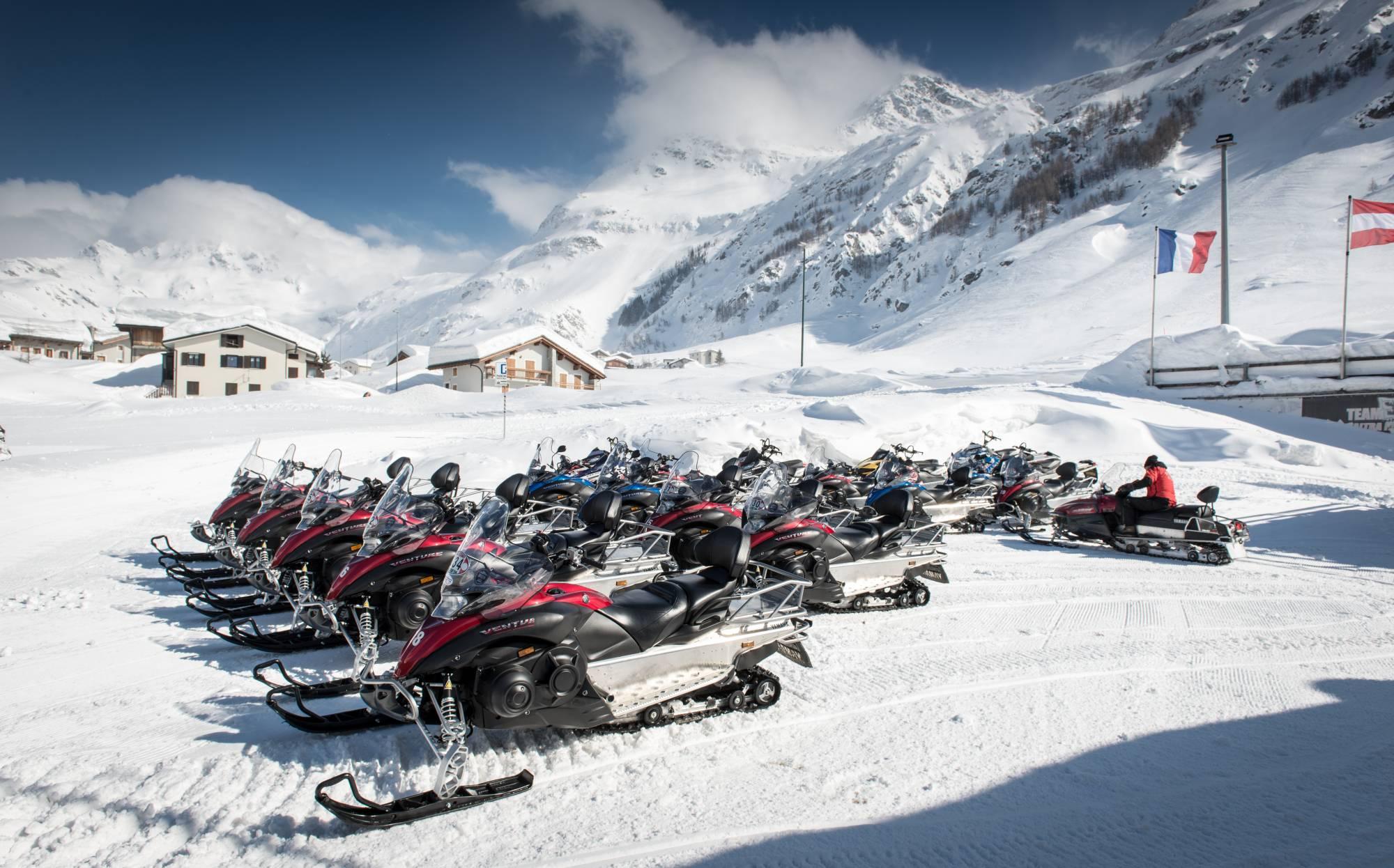 Snowmobiling Erlebnisse